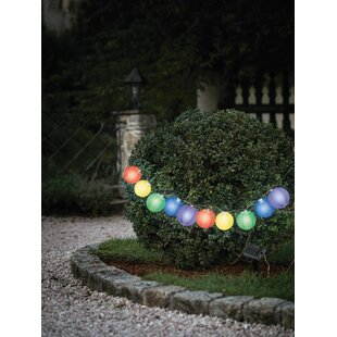 Brass Work 10 Light Lantern String Lights By Marlow Home Co.