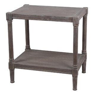 Aleshire End Table by Highland Dunes