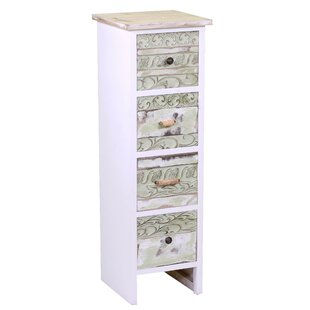 Cevennes 4 Drawers Chest By World Menagerie