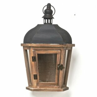 Wood Lantern by Darby Home Co