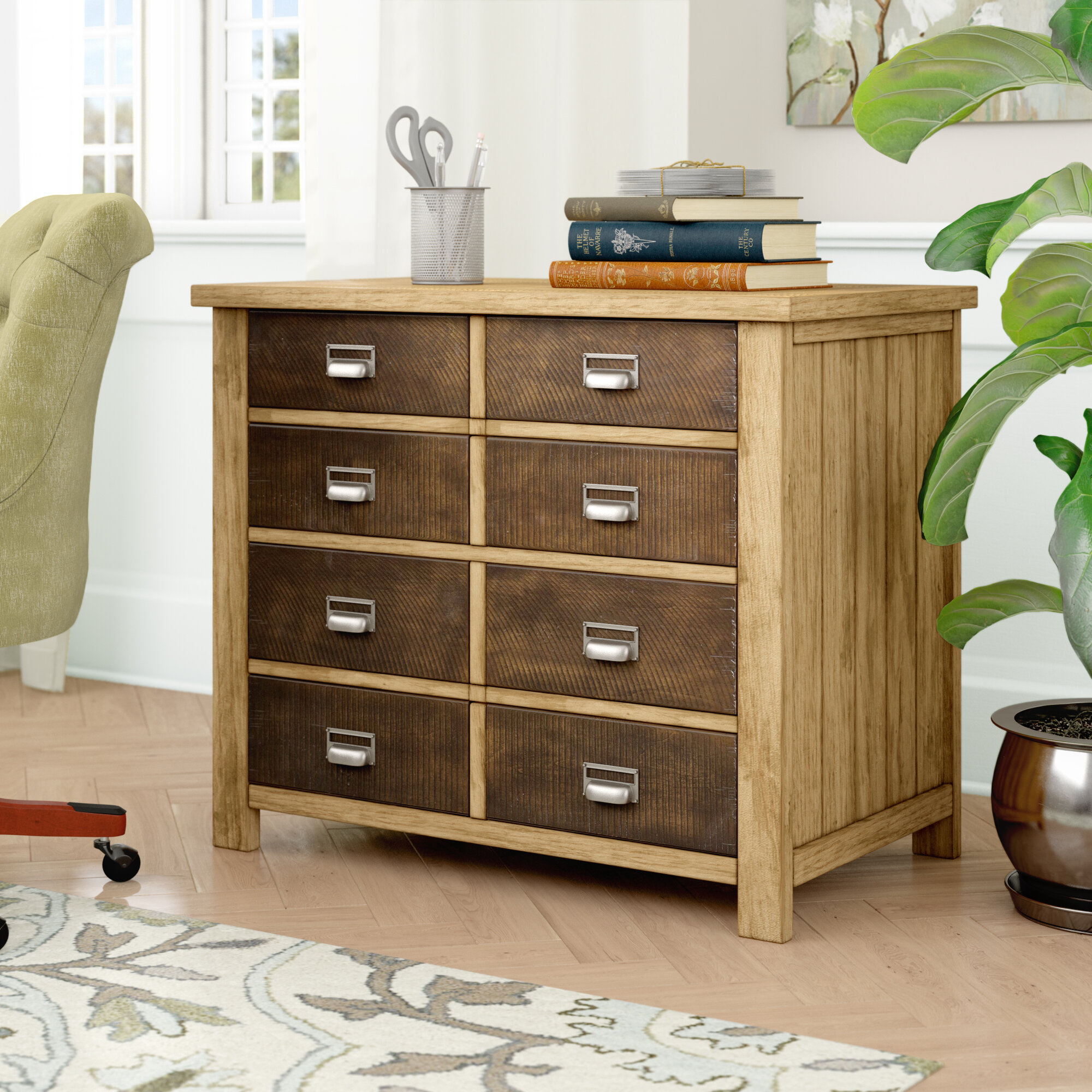 Picture of: Gracie Oaks Barnett 2 Drawer Lateral Filing Cabinet Reviews
