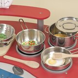 Let's Play House! 8 Piece Pots and Pans Set