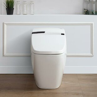 Ove Decors Bernard 1.6 GPF Elongated One-Piece Toilet with Touchless Flush