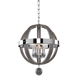 Kalco Sharlow 5-Light Globe Chandelier