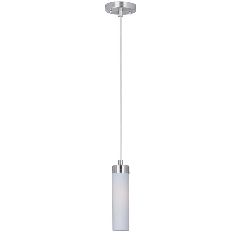 Zipcode Design Fatima 1 Light Single Cylinder Pendant Reviews Wayfair
