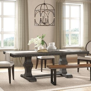 Suzann Extendable Dining Table by Laurel Foundry Modern Farmhouse Great Reviews