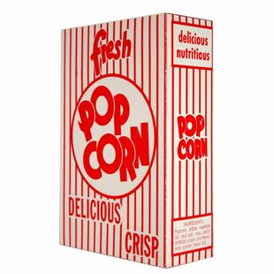 Classic Popcorn Box (Set of 50)