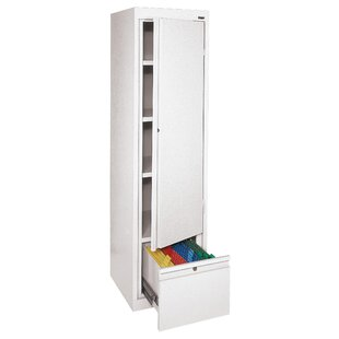 System Series 1 Door Storage Cabinet by Sandusky Cabinets