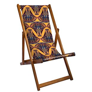Kapoor Deck Chair By World Menagerie