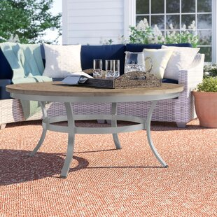 Hillard Solid Wood Coffee Table by Sol 72 Outdoor