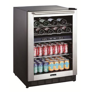 44 Bottle Dual-Zone Convertible Wine Cooler