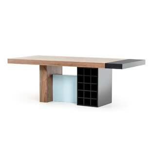 Camron Modern Wood Top Dining Table