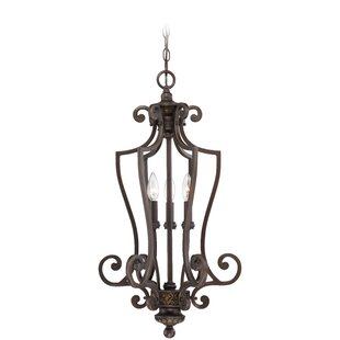 Fleur De Lis Living Charlestown 3-Light Foyer Pendant