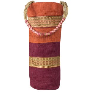 Spring Stripes Single Bottle Carrier