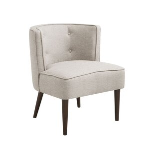 Peyton Button Tufted Barrel Chair by Langley..