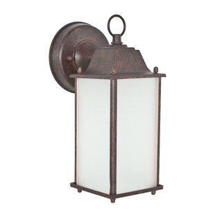 Deck 1-Light Outdoor Wall Lantern by Winston Porter