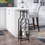 Raishon 12 Bottle Floor Wine Bottle Rack by Latitude Run