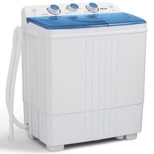 Mini washing machine with dryer