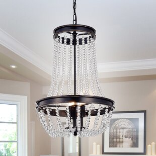 House of Hampton Adalwin Vase 3-Light Empire Chandelier