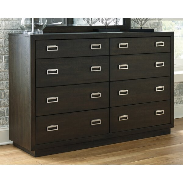 Melba 8 Drawer Double Dresser by Red Barrel Studio®