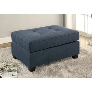 Brownsboro Cocktail Tufted Ottoman by Charlton Home