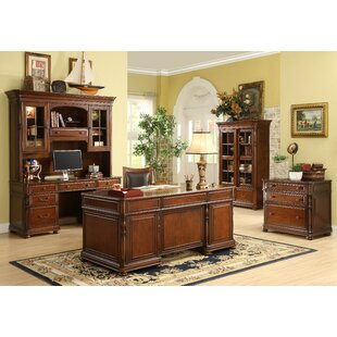 Darby Home Co Finnerty 5-Piece Standard Desk Office Suite