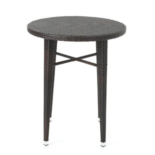 Alcott Hill Hartwick Wicker Bar Table