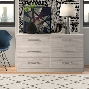Affordable Caley 6 Drawer Double Dresser by Brayden Studio