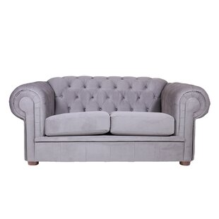 Alexa II Chesterfield Loveseat by REZ Furniture