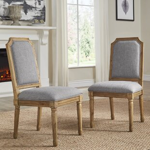 Lachance Arched Upholstered Dining Chair (Set of 2) Ophelia & Co.