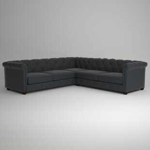 Keegan Sectional by AllModern Custom Upholstery Savings