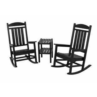 Presidential 3-Piece Rocking Chair Set by POLYWOOD?