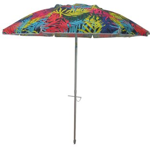 Tropical Palms 7' Beach Umbrella