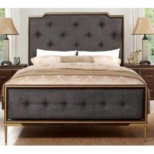 Kissena Upholstered Standard Bed
