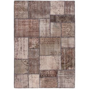 Mydesign Hand-Knotted Brown Area Rug by Sitap Spa.