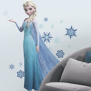 44 Piece Disney Frozen Elsa Giant Wall Decal Set By Room Mates
