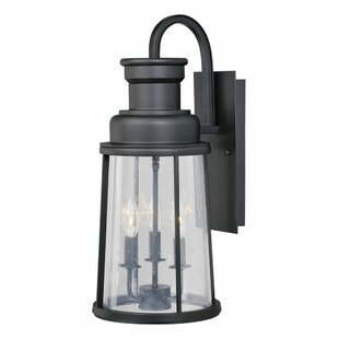 Trent Austin Design Cascades 3-Light Outdoor Wall Lantern