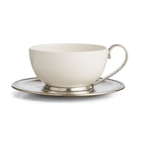 Tuscan Cup and Saucer Set