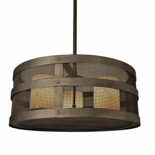 Steel Partners Suismon 3-Light Pendant