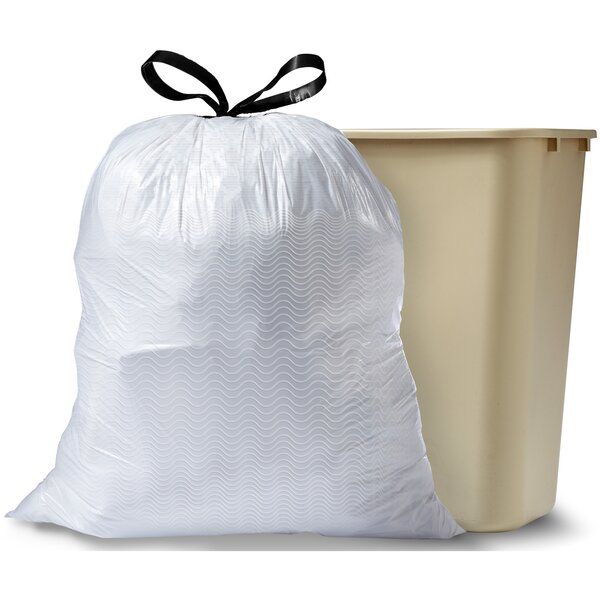 Trash Can 33-55 Gal Container Portable Instant Leaves Bag Outdoor Lightweight