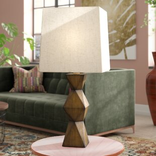 Chambray Stacked Diamond 20.5 Desk Lamp by Bloomsbury Market