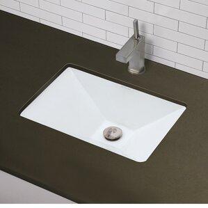 Low Profile Undermount Bathroom Sink decolav | wayfair