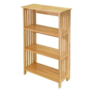 Calfee Foldable Etagere Bookcase by Winston Porter