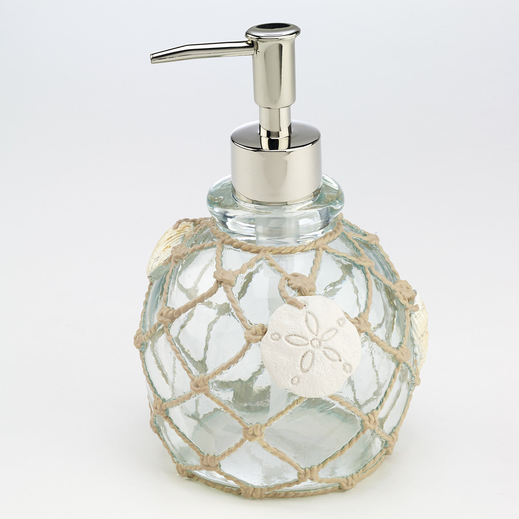 Avanti Linens Seaglass Lotion And Soap Dispenser Reviews Wayfair Ca