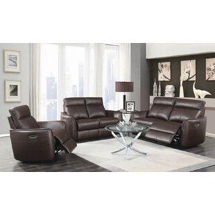 Tremblay 3 Piece Reclining Living Room Set by Orren Ellis