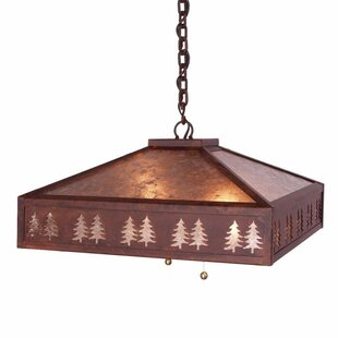 Steel Partners Meadow Band of Trees 2-Light Dome Pendant