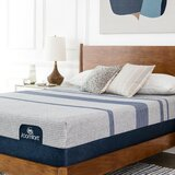 iComfort Max 5000 13 Firm Gel Memory Foam Mattress and Box Spring by Serta