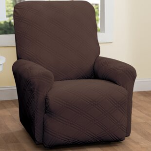 Double Diamond Box Cushion Recliner 4 piece Slipcover