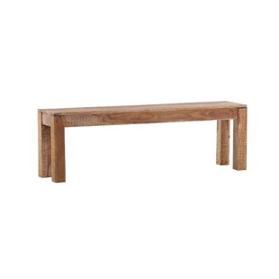 Mansfield Wood Bench By Union Rustic