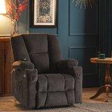Power Reclining Heated Massage Chair